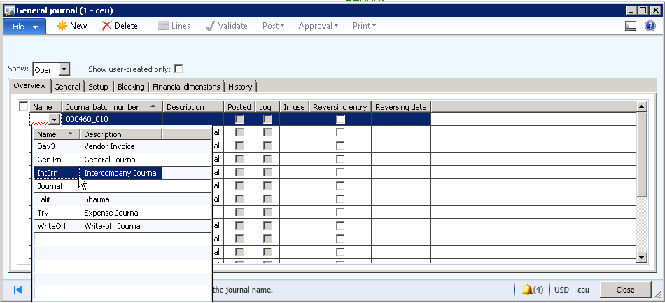 Quickbooks Invoice Import Intercompany Accounting Setup And Process In Microsoft Dynamics Ax  Print Lic Premium Receipt Pdf with Make Free Invoice Word Image Open Invoicing