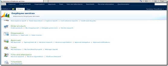 Employee Services Portal
