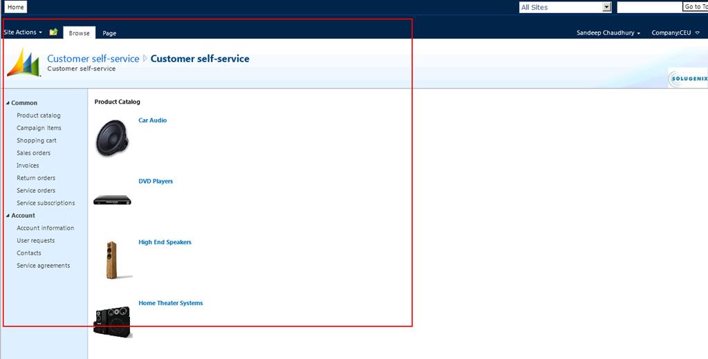how to create self service portal