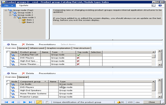 Configure Product Groups