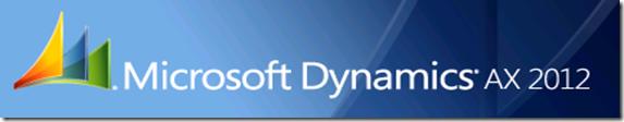 Miccrosoft Dynamics AX 2012