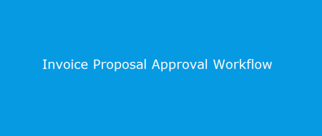 Project Invoice Proposal Approvals in Microsoft Dynamics AX 2012R2