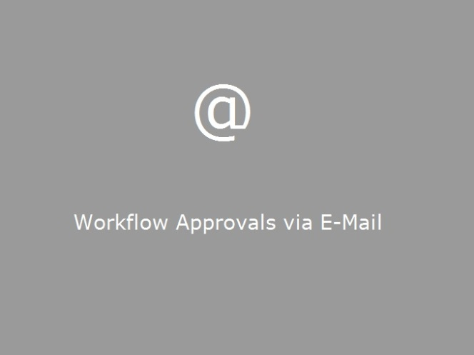 Workflow Approvals via E-Mail in Microsoft Dynamics AX 2012 R2