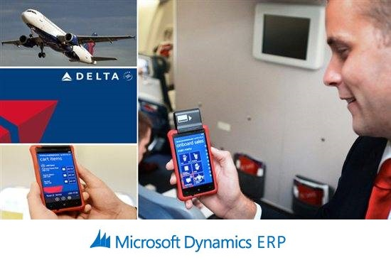 Delta Airlines takes off with Microsoft Dynamics for Retail and Windows phone platform