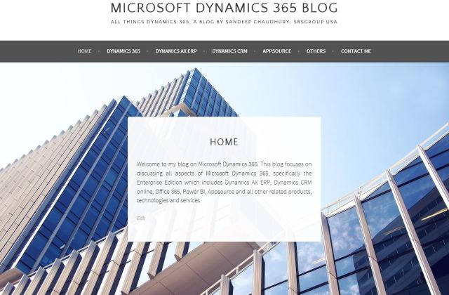 New Blog On Microsoft Dynamics 365, Subscribe and Stay tuned for updates