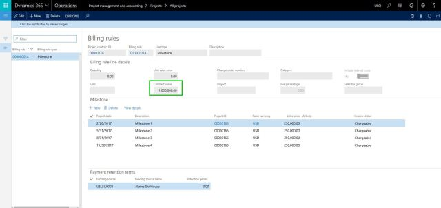 Vendor Prepayments and Revenue Recognition For Fixed Price projects in Dynamics 365 For Operations